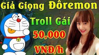 Giả Giọng Đôremon Troll Em Gái 50,000 VNĐ/h - Cười Ra Nước Mắt | ThrowThi