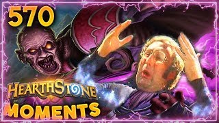 Mindblowing Lethal!! (Kinda) | Hearthstone Daily Moments Ep. 570