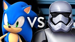 Sonic the Hedgehog Vs Stormtroopers - Epic Battle - Left 4 dead 2 Gameplay (Left 4 dead 2 Skin Mods)