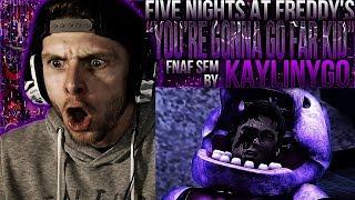 "Vapor Reacts #580 | [FNAF SFM] FNAF 6 ANIMATION ""You're Gonna Go Far Kid"" SFM by KaylinYGO REACTION!"