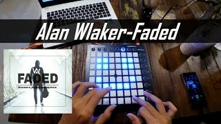 download lagu Alan Walker - Faded Robby Trap Remix  Launchpad gratis
