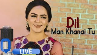 Nigina Amonqulova - Dil Man Khanai Tu LIVE MUSIC VIDEO