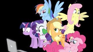 ФАНФИКИ они бесят даже пони,my little pony,Мой маленький пони,mlp other,mane 6,фэндомы. фэндомы. mane 6.