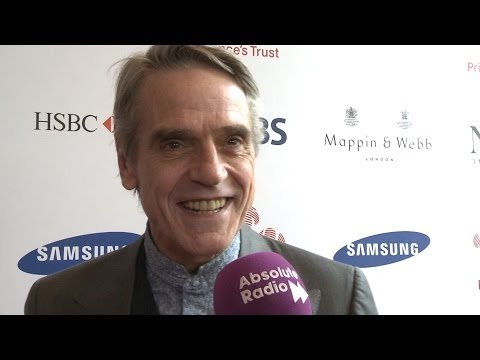 Jeremy Irons at The Prince's Trust Celebrate Success Awards 2014