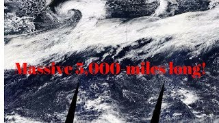 5,000 mile long Atmospheric River in the sky