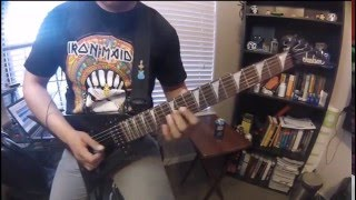 Iron Maiden - 2 Minutes to Midnight Guitar Cover by Jona Q