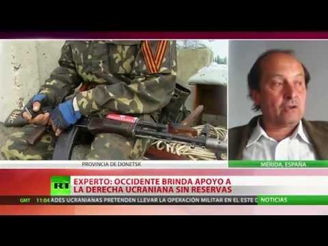 Ucrania: Autodefensas derriban un helicóptero del Ejército en Slaviansk