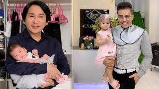 Bất ngờ trước sự trùng hợp đặc biệt giữa cháu nội MC Thanh Bạch và cháu ngoại NSƯT  Kim Tử Long