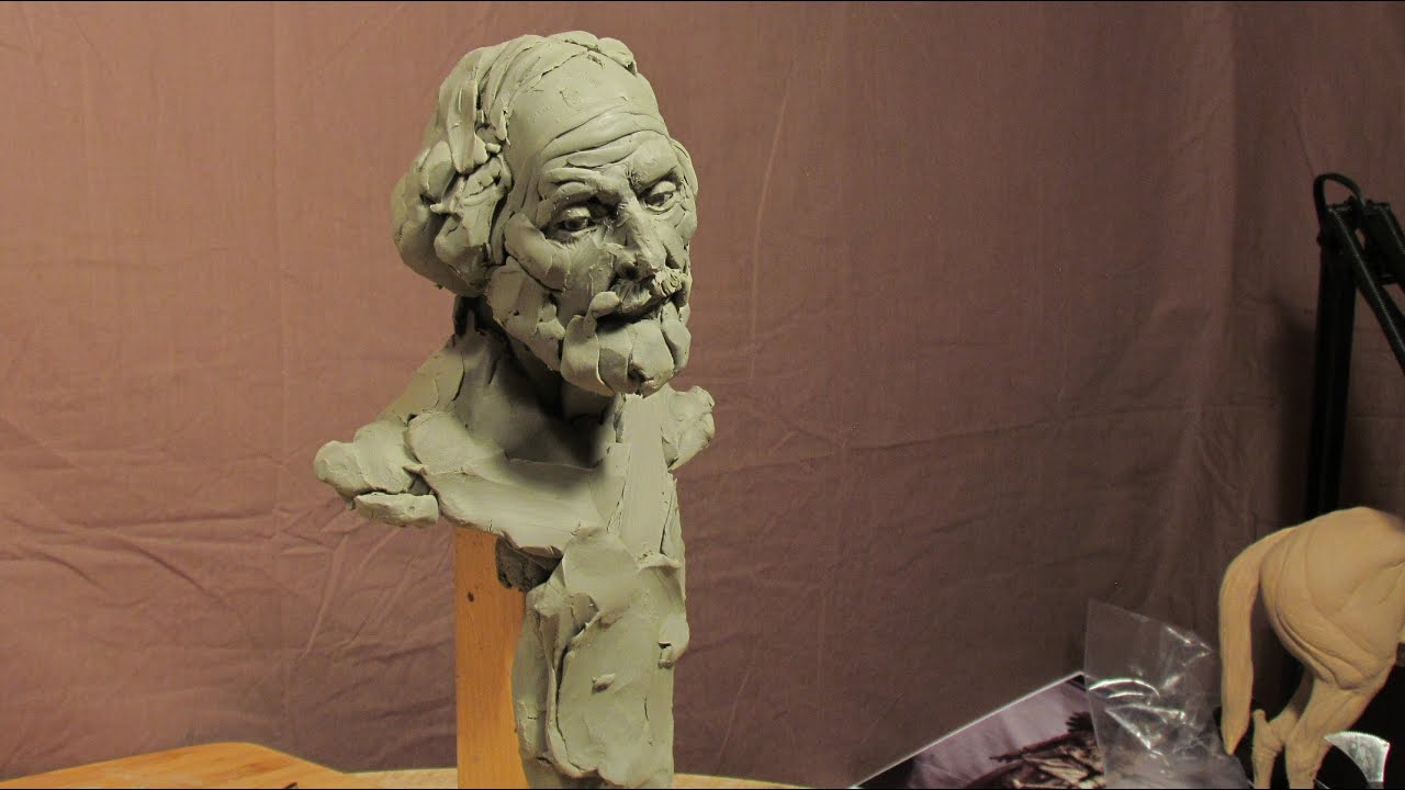 Sculpting with lemon sculpture depot and chavant clay