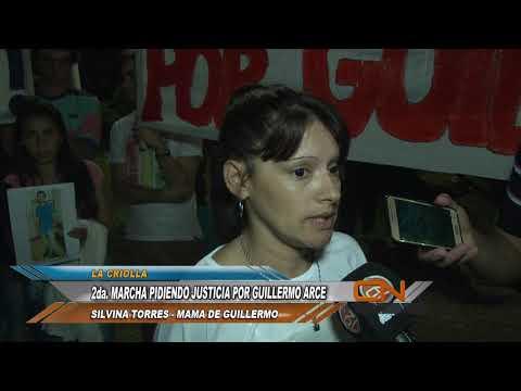 Nueva marcha para pedir justicia por la muerte de Guillermo Arce en La Criolla