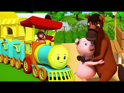 Rig A Jig Jig Song | Рифмы для детей | Детские песни | Kids & Baby Songs | Rhymes For Toddlers