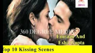 Best Bollywood Kisses - Bollywood Top 10 kisses of 2012- Which one is the best?