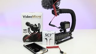 Rode VideoMicro Microphone - Review, Unboxing & Setup
