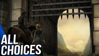 Game of Thrones Episode 1 - All Choices/ Alternative Choices