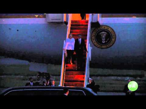 Arrival of the President of the United State