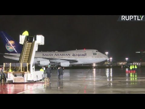 LIVE: Saudi king arrives in Moscow for historic state visit