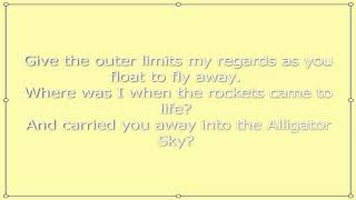 Owl City -  The Alligator Sky ( Lyrics on Screen )