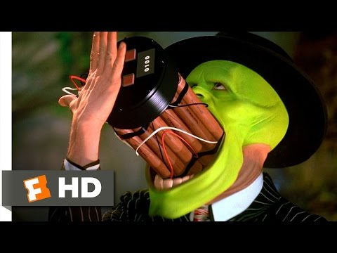 The Mask (5 5) Movie Clip - That's A Spicy Meatball! (1994) Hd video