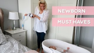 NEWBORN BABY MUST HAVES AND ESSENTIALS
