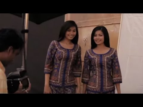 Full length of The Making Of Singapore Airlines Campaign