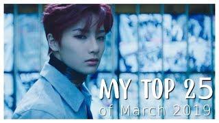 [My Top 25] K-Pop Releases of March 2019