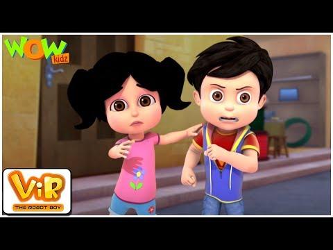 The Lady Jinn Part - 1 | Vir: The Robot Boy | Action cartoon for kids | Wow Kidz thumbnail