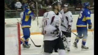 Latvia 4:2 Ukraine: Olympic qualification Vancouver 2010
