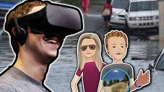Mark Zuckerberg's VR Safari Through Puerto Rico
