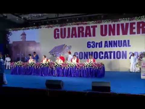 Gujarat University 63rd Convocation 2015 Live Webcasted by Lightline Media Creation