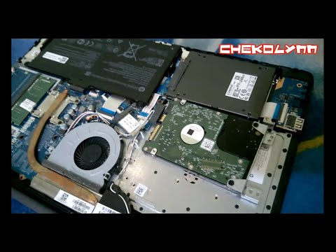 HP 15-DB0026LA : Cambio de HDD a SSD.