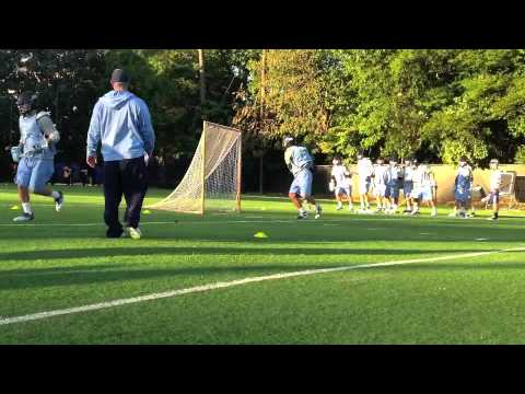 UNC Men's Lacrosse Fall Ball 2012 Part 2