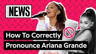 Download Lagu Are You Saying Ariana Grande's Name Correctly? | Genius News Gratis STAFABAND