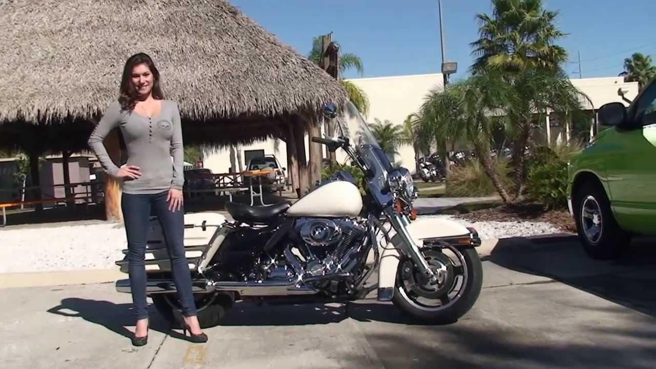 2010 Harley Davidson Road King Police Motorcycle For Sale