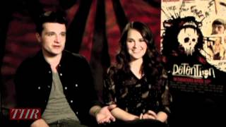 Josh Hutcherson and Shanley Caswell 'Detention'