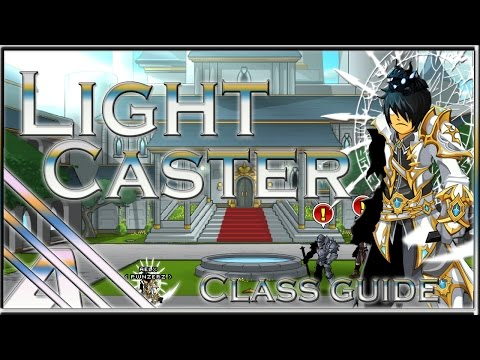 AQW: Light Caster Ultimate Class Guide (Soloing. PVP. Support. Review)