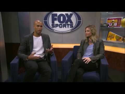 Richard Jefferson talks Kyrie & Flat Earth on FOX Sports - Mark Sargent ✅