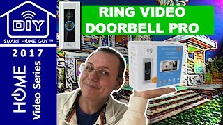 Ring Video Doorbell Pro Review, Installation, Setup and Connecting to the Wink Hub for Home Security