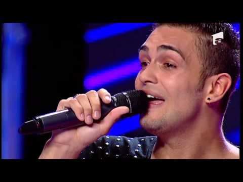 X Factor Romania - Alexandru Simion - Michael Buble - lost video