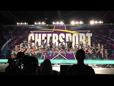 Maryland Twisters F5 Cheersport Nationals Day 1