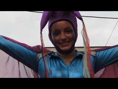 Ilobasco - Desfile del Correo Fiestas Patronales 2013 - HD
