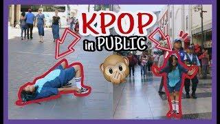 Download Lagu KPOP PUBLIC DANCE CHALLENGE || Bailando KPOP en publico (MOMOLAND - TWICE- BTS) || Akira Lau Gratis STAFABAND