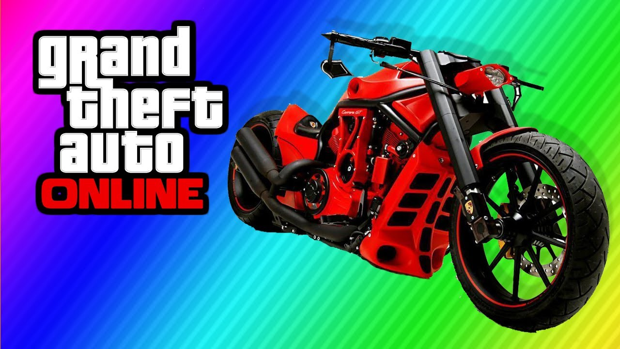 Chopper Bikes In Gta 5 GTA Secret quot Chopper Bike quot