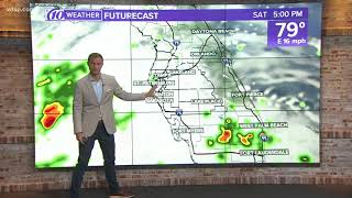 10Weather: Friday afternoon forecast; May 25, 2018