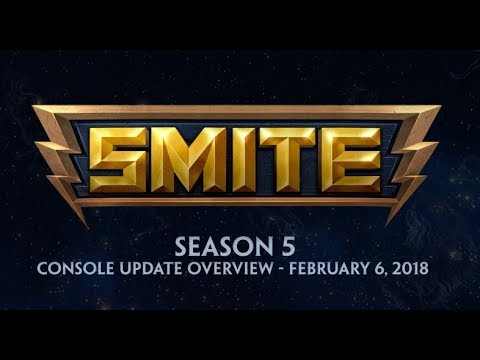 SMITE - 5.1 Console Update Overview - Season 5 (February 6, 2018)