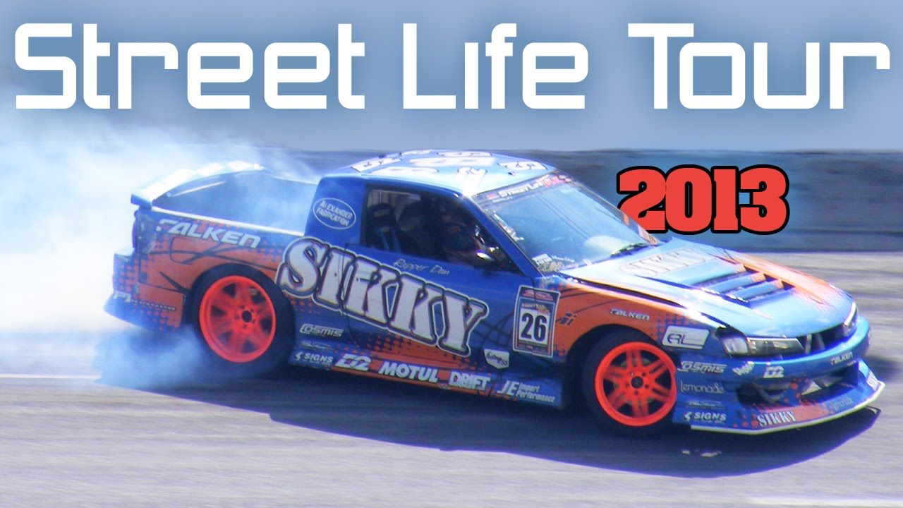 Street Life Tour 2013, full drifting event Movie - YouTube