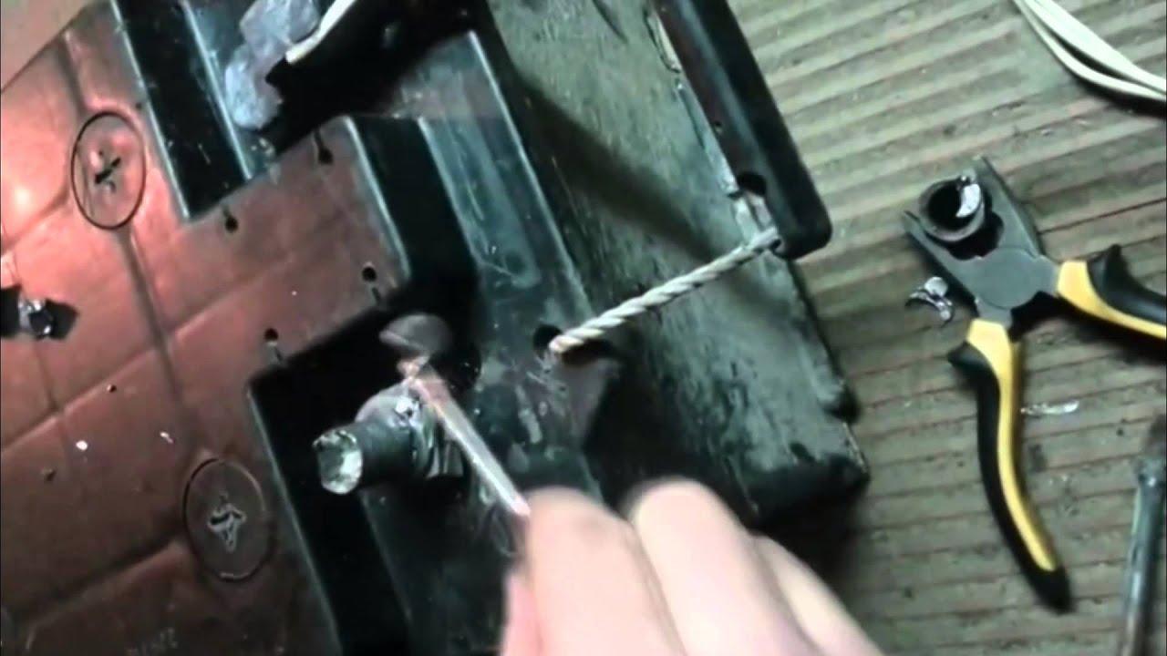 Ремонт клеммы аккумулятора автомобиля своими руками 65