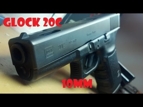 Shooting the Glock 20c 10mm! John's New Hog Hunting Glock!
