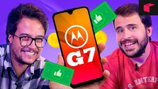 CELULAR BARATO e bom DE VERDADE! - Unboxing Motorola Moto G7