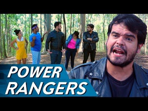 POWER RANGERS Vídeos de zueiras e brincadeiras: zuera, video clips, brincadeiras, pegadinhas, lançamentos, vídeos, sustos