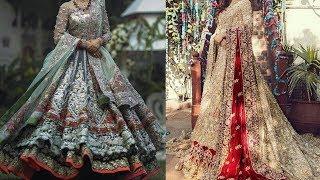 Latest & Mind Blowing Fancy Bridal Dresses Design Collection 2018/Top Stylish Pakistani Bridal Dress